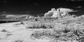 Rear Range Lighthouse in Infrared