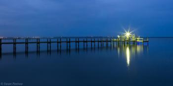 Blue Hour on the Lagoon