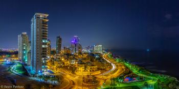 Netanya at Night