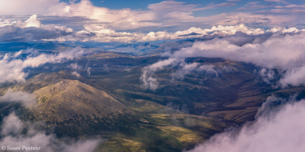 Above the Alaska Range