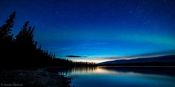 Aurora Over Boya Lake