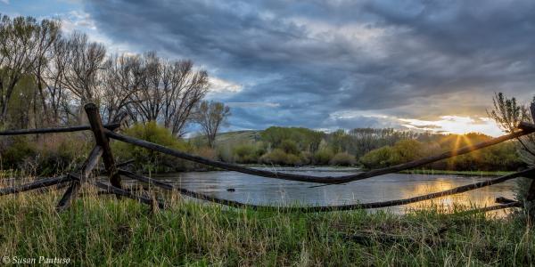 Grasshopper Creek Sunset