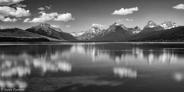 Lake McDonald Reflections