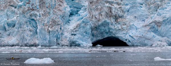 Meares Glacier Ice Cave