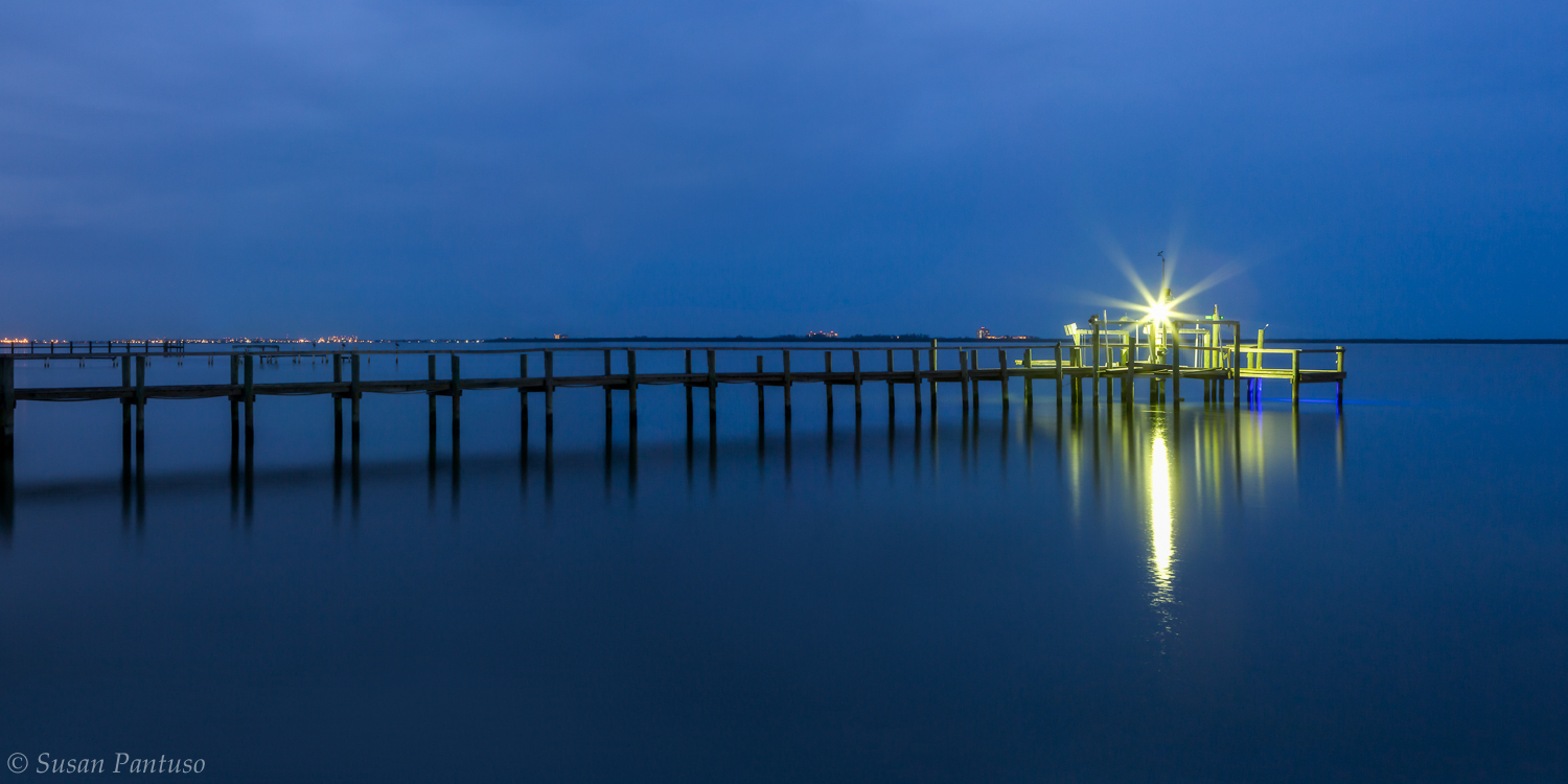 Blue Hour on the Lagoon