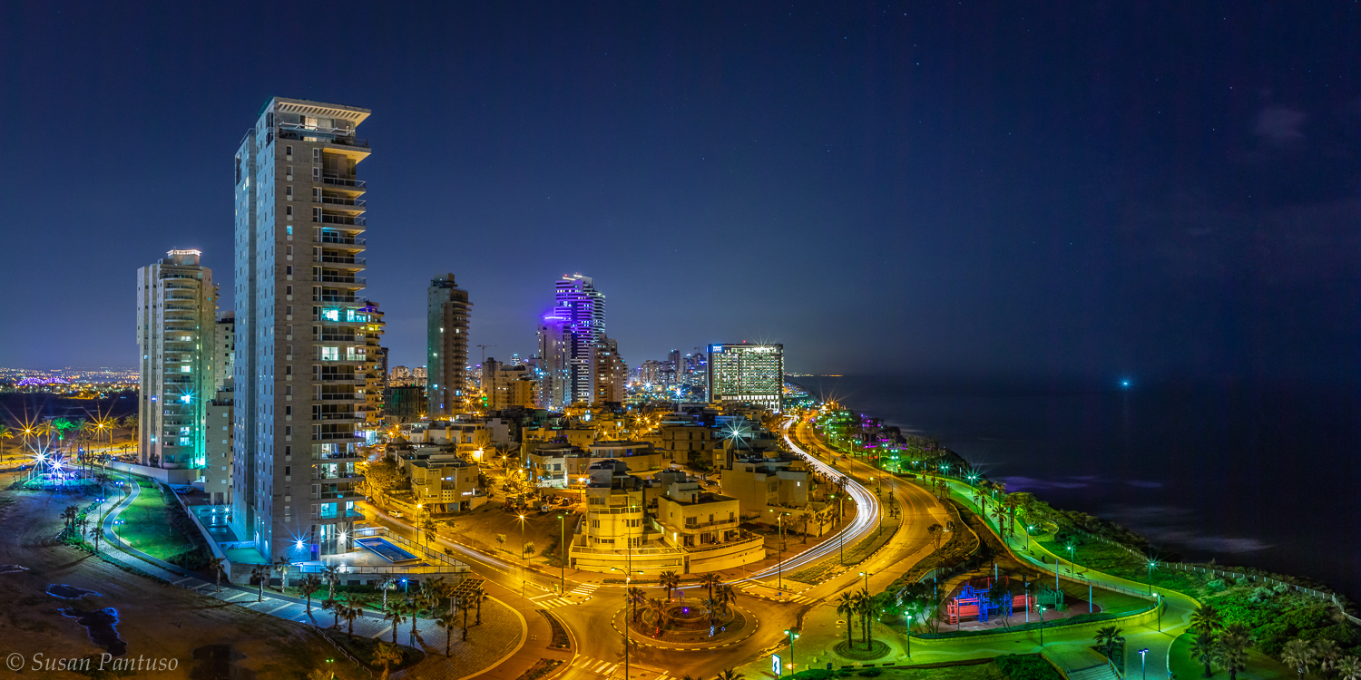 Netanya at Night